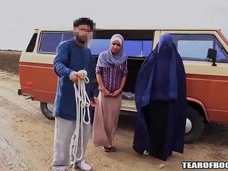 Arab man sells his own daughter
