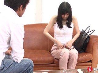 Cute innocent Japanese Teen orgasm spasms