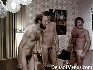 Vintage Euro Porn 1970s - Interracial